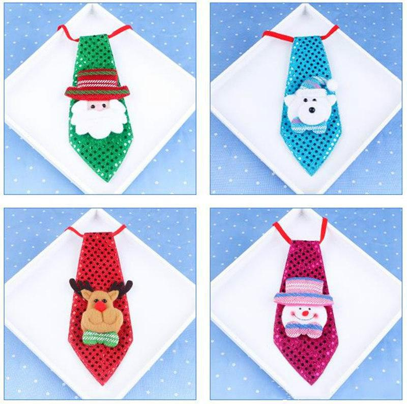 christmas decorations fashion bow tie christmas luminous bow tie adult children school decorations christmas creative small gifts holiday decor holiday
