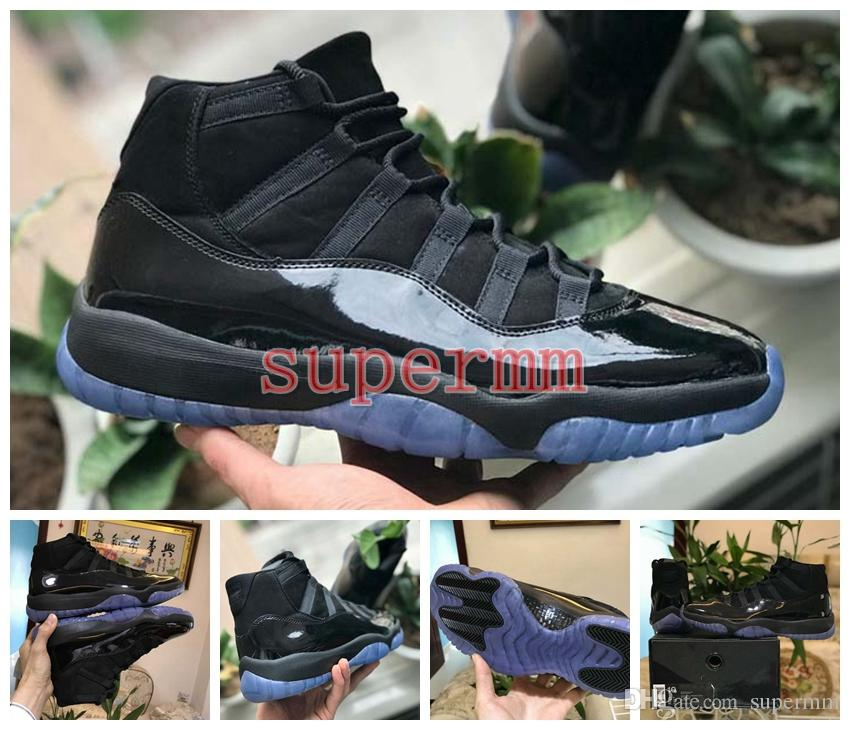 2018 Release Cap And Gown 11 Prom Night 11s Blackout Basketball