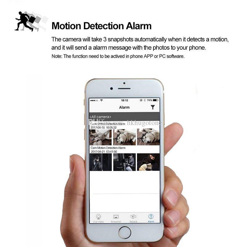 1080 وعاء واي فاي كاشف الدخان مصغرة كاميرا dvr كشف الحركة للرؤية الليلية كاميرا ip لاسلكية داخلي الطفل مراقبة الحيوانات الأليفة بعيد الوقت الحقيقي الفيديو