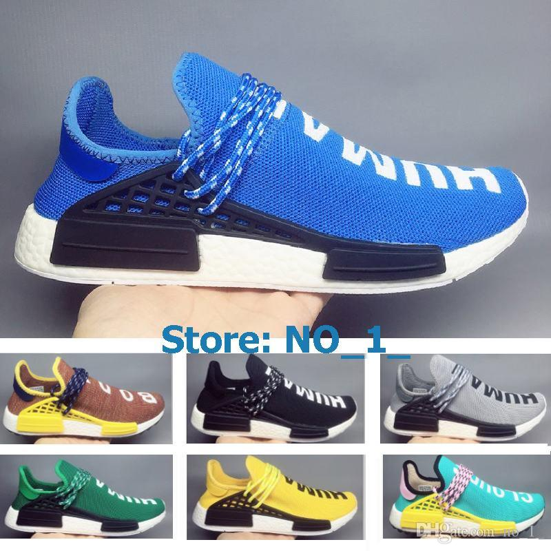 f83cced7f 2018 Cheap Wholesale Pharrell Williams Human Race X NMD Truth Sports ...
