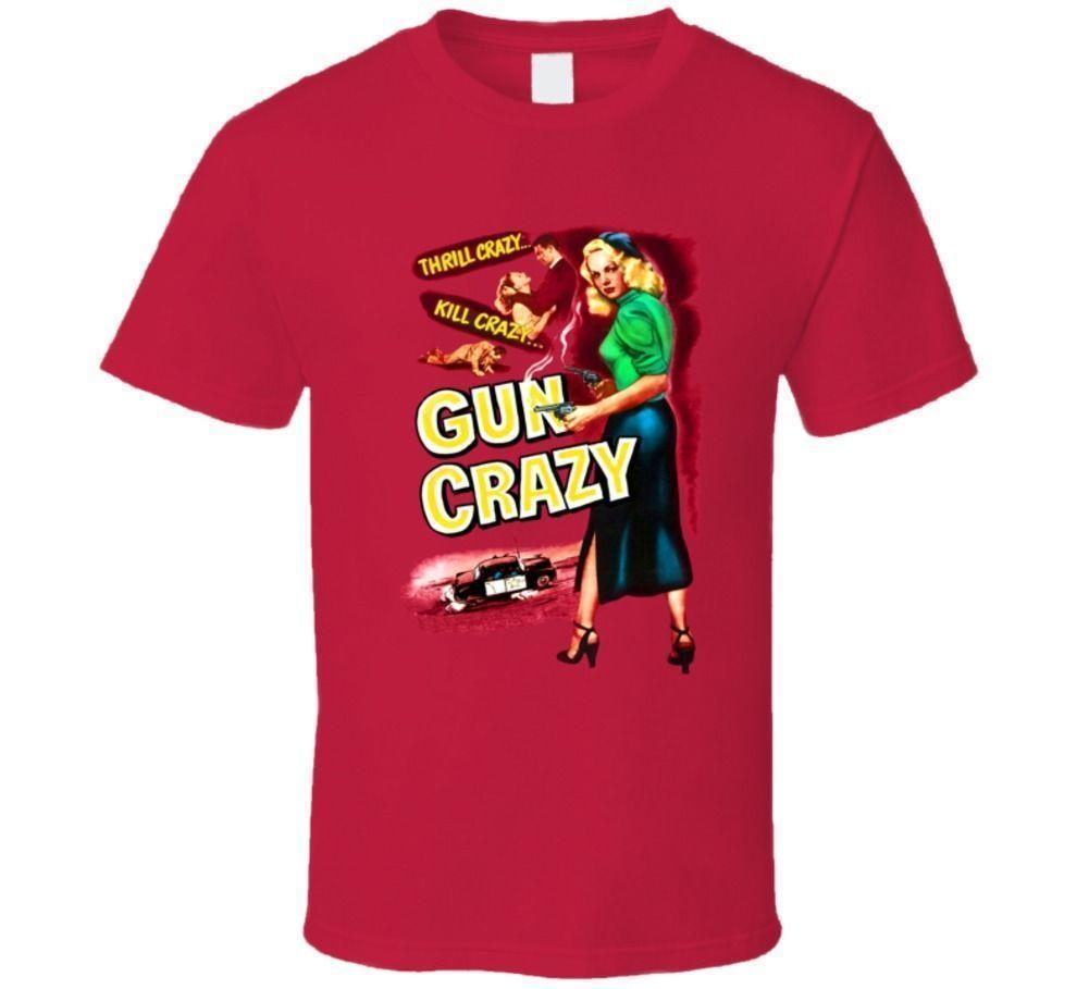 Gun Crazy, camiseta, Peggy Cummins, B-movie, Retro, 1950's, Crime