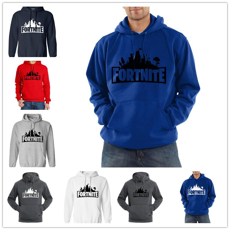 b571cd30372 Game Fortnite Mens Hoodie Casual Long Sleeve Hooded Pullover Streetwear  HipHop Male Autumn Winter Men Boys Hoodies Top Clothes Online with   16.18 Piece on ...