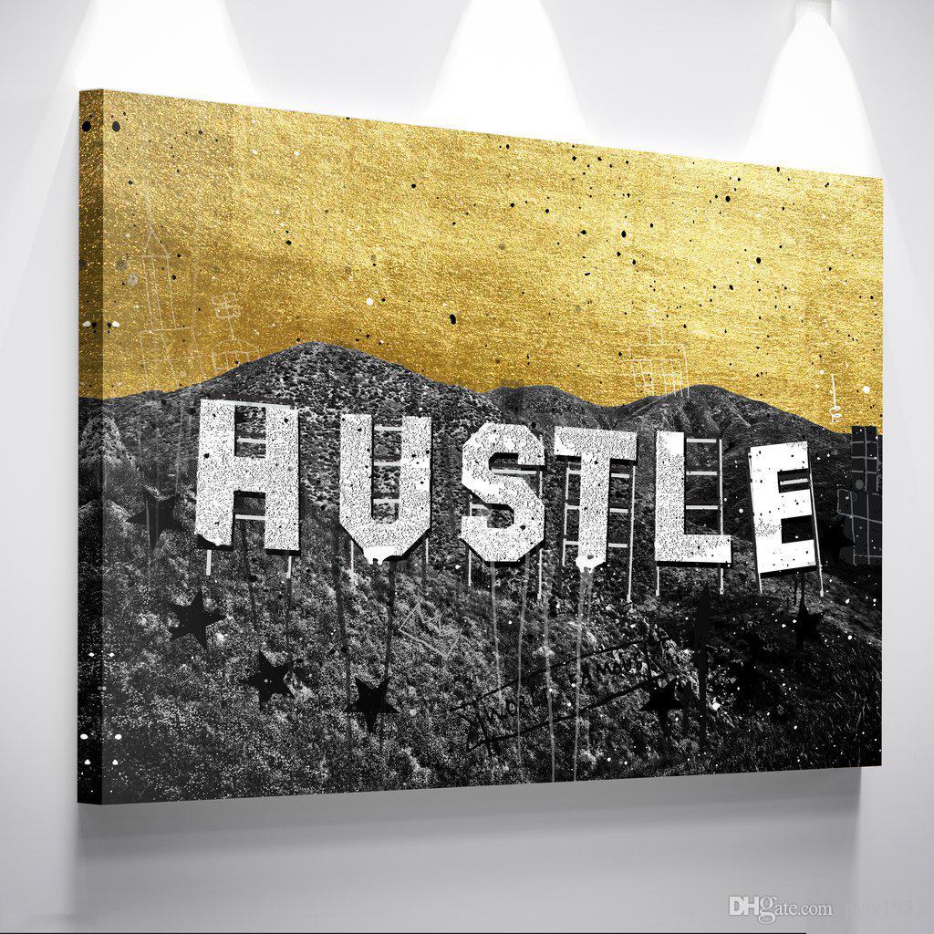 2018 Unframed/Alec Monopoly Hustle Hills,Hd Canvas Print Home Decor ...