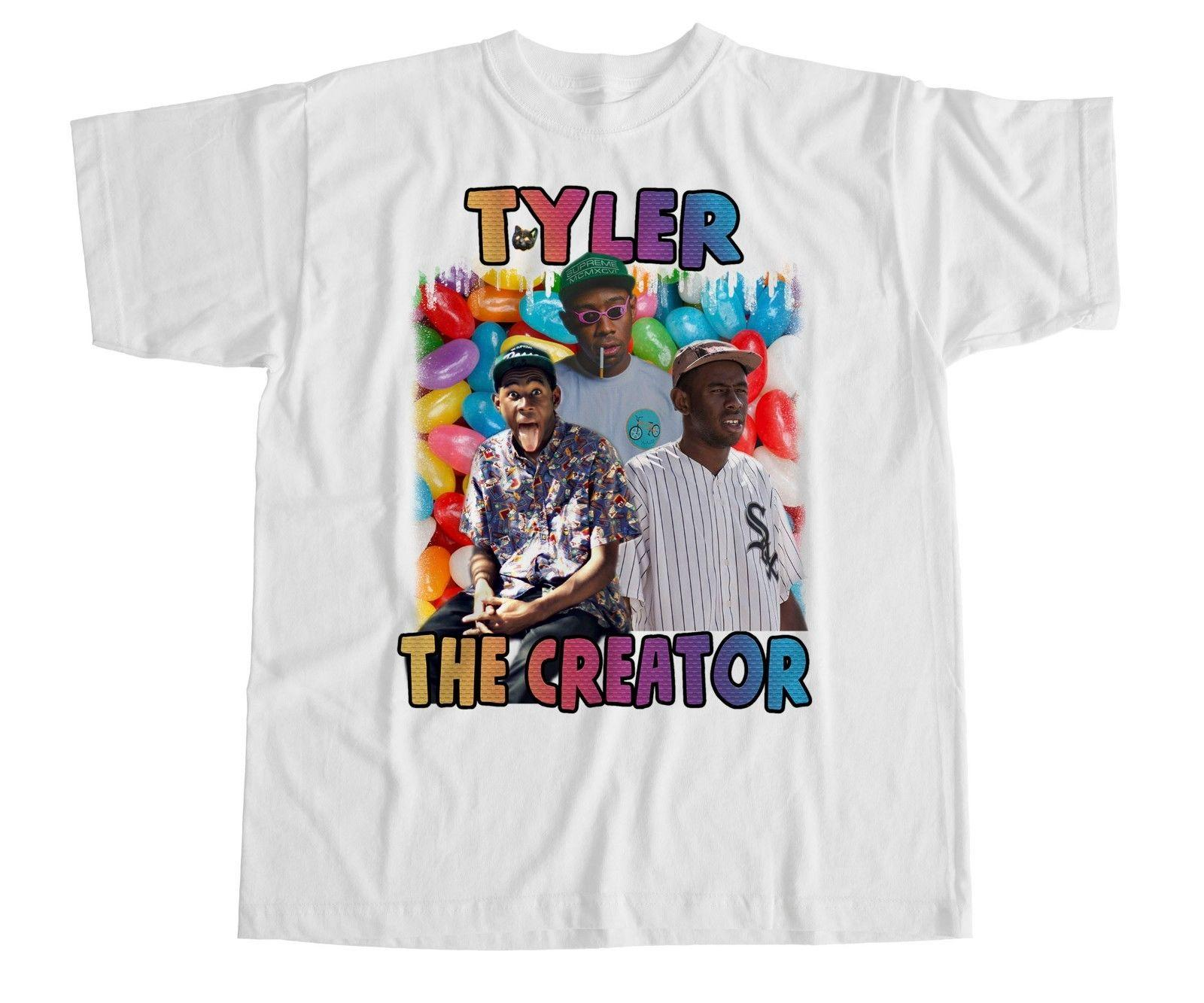 4182f6f6274a Tyler The Creator T Shirt Earl OFWGKTA Odd Future Cherry Bomb Wolf Gang New  T Shirt Designs Cool Shirts From Dhgategiff