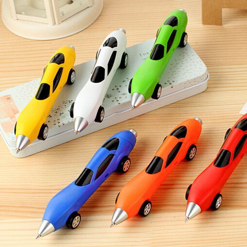 Cars Ballpoint Pen Set 0 7mm Ink Blue Plastic Gift Logo Pen For