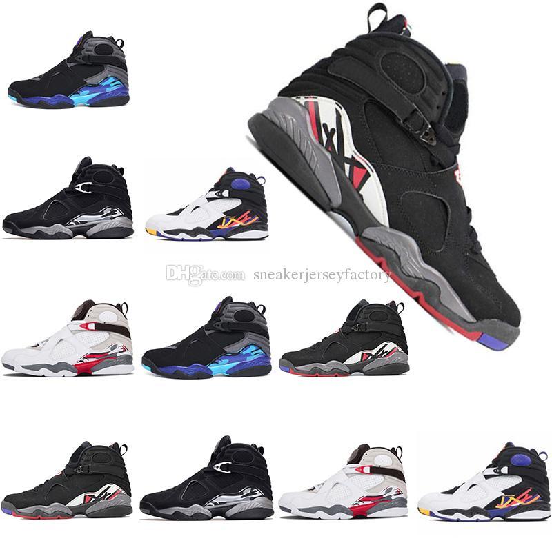 2018 New 8s Basketball Shoes 8 for Mens Womens VIII Three Peat ... 6bbfa0dec