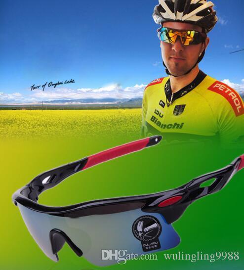 f7c98193b Men Bicycle Sports Sunglasses Cycling Eyewear Cycling Riding ...
