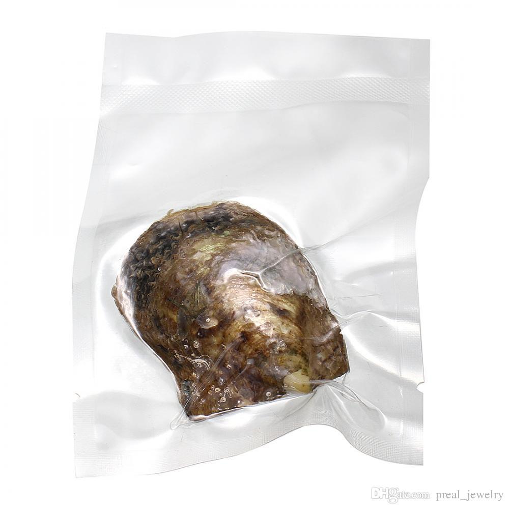 L'eau de mer Akoya Oyster Perle Ronde 5-7mm 20 mélangé Couleur Naturel perle Amour Cadeau BRICOLAGE Bijoux Décorations Emballage sous Vide En Gros 2018 Nouveau