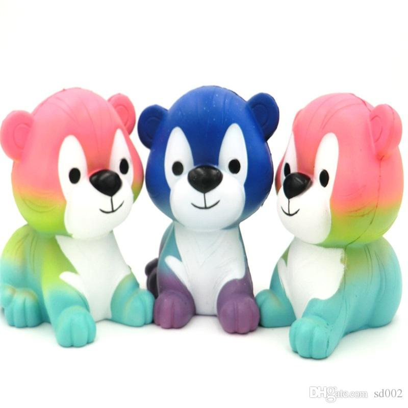 Cartoon Tiger Squishy Decompression Toy Squishies Animal Shape Venting Toys Photography Take Photo Prop Multi Color 20xm C
