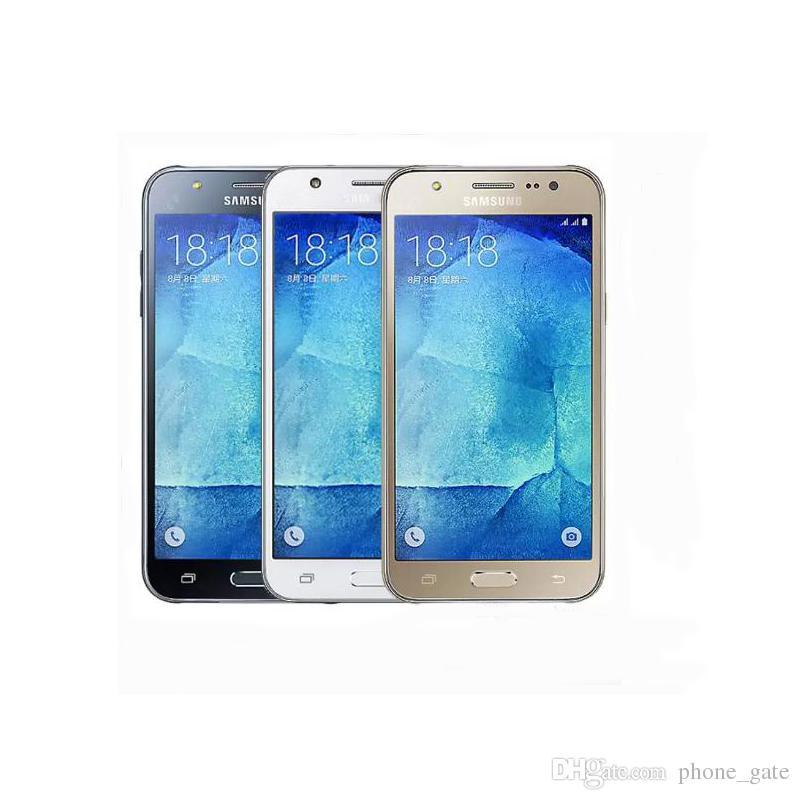 Original Unlocked Refurbished Samsung Galaxy J5 J500F 16GB ROM 1.5GB RAM Battery 2600mAh Camera 13MP/5MP Smartphone