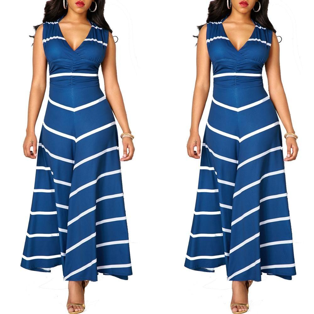 dfb71dc59814f1 Acheter 2017 Pakistan Femmes Vêtements Robes De Sari Indiennes Coton 2017,  Hot New Européenne Et Américaine De Mode Rayure Burst, Robe Sexy De $78.95  Du ...