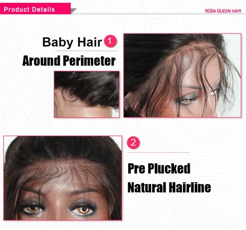 무료 제품 상자 드리다 가발 블랙 / 브라운 / 금발 / 레드 브라질 전체 레이스 앞 가발 점보 합성 가발 아기 머리 열 저항하는 머리띠