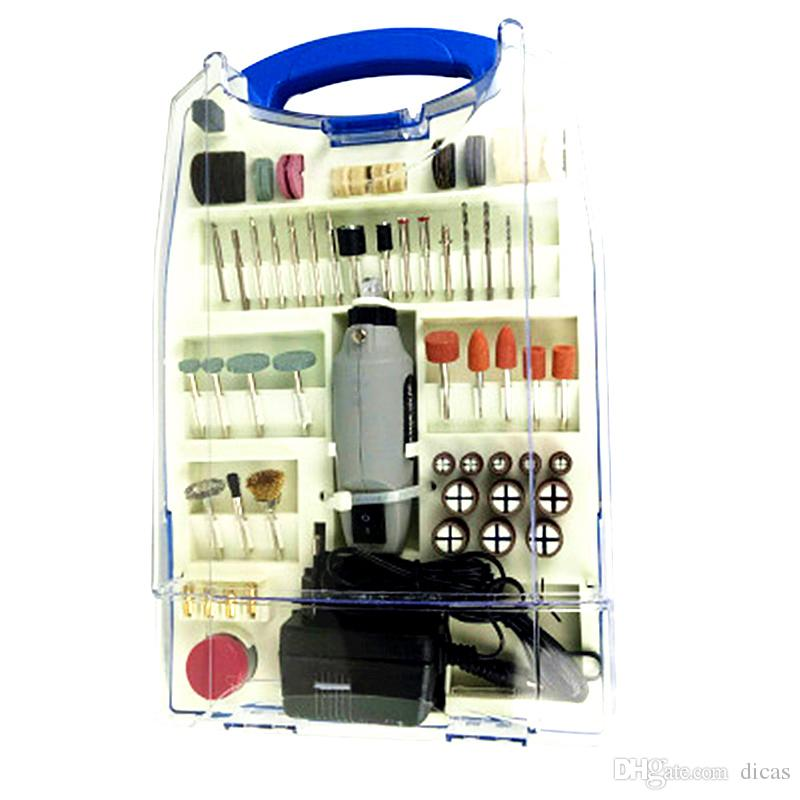 Livraison Gratuite 12V Set de meuleuse sans fil Mini perceuse électrique Polissage multifonctionnel outil de polissage de vitesse de la vitesse d'outil de broyage de batterie