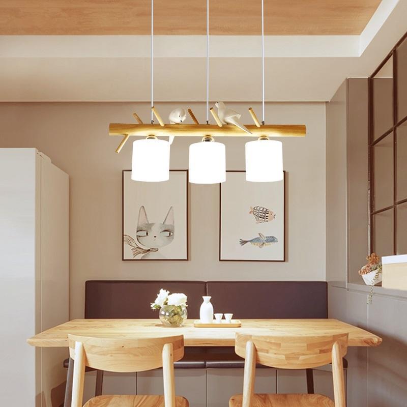 Compre Nordic LED Post Modern Designer Comedor Luces Colgantes ...