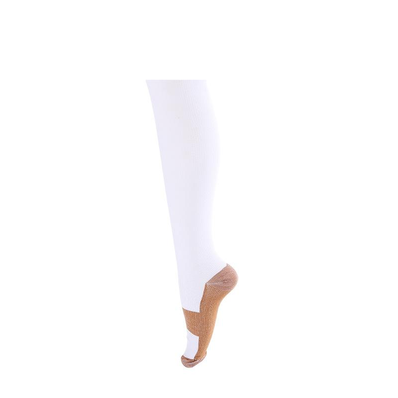 Men Women Football Socks Compression Stocking Leg Warmers Slimming Socks Calf Support Relief Sport Running Bicycle Cycling Stockings