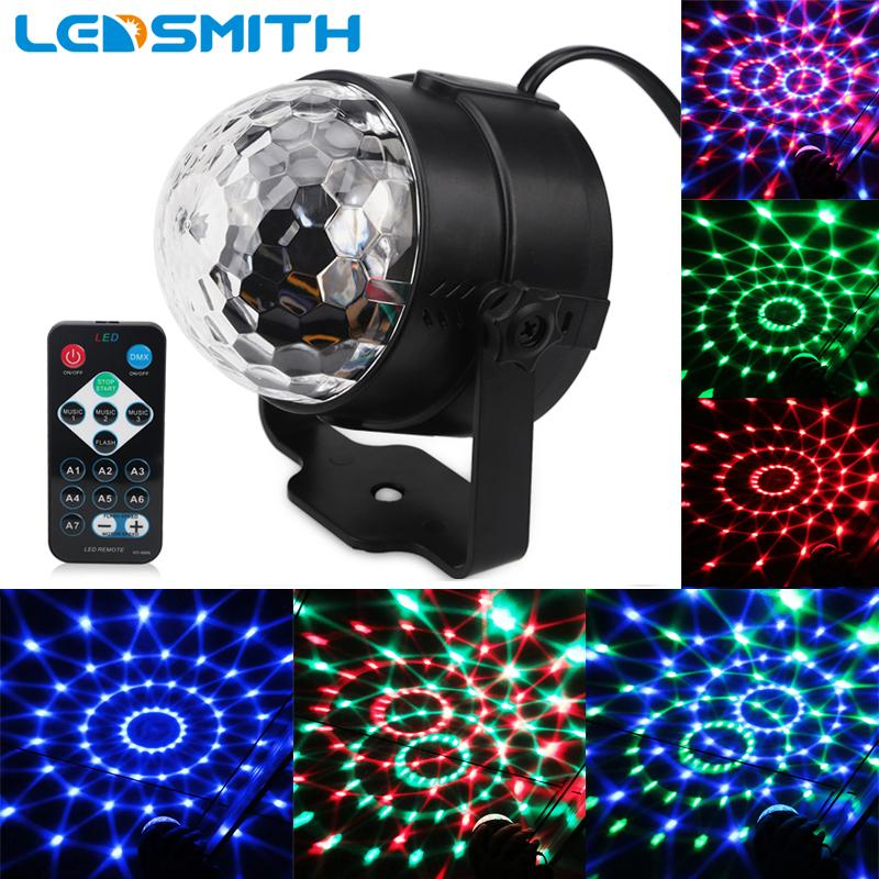 3w rgb party stage light music sound activated rotating magic ball rh dhgate com sound activated light strip sound activated light show