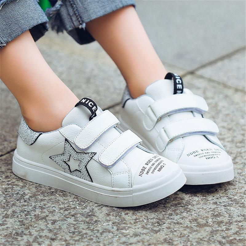 Momogou New Children Shoes for Yon Kids Toddlers Teens Boys Girls with  Genuine Leather Upper Stars Decorate Casual Style for Students Students  Shoes Kids ...