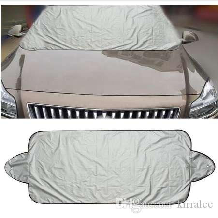 Car Snow Ice Protector Visor Sun Shade Fornt Rear Windshield Cover Block Shields Windshield Sunshades