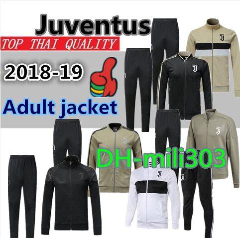 2019 New Juventus Soccer Jersey Jacket Tracksuit 18 19 Juventus Football  Jacket Training Suit 2018 19 RONALDO Juve Jackets Kit Tracksuit Sweater  From ... e961b56f5