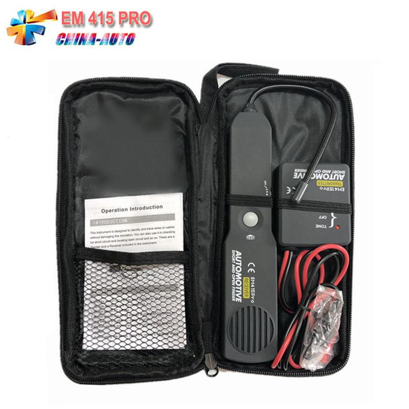 2018 Newest EM415 PRO Universal Automotive Cable Wire Open Circuit Finder  Tester Tracker Short Open Circuit Finder