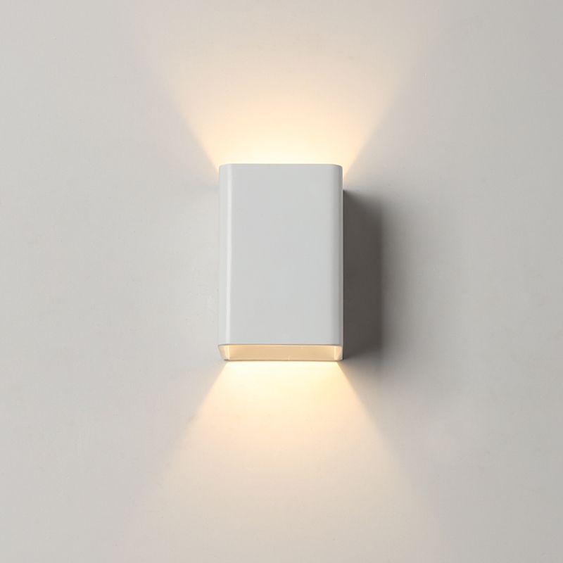Blanche Chambre Balcon Applique Creative Escalier Mur Lampe Corridor kXuPZi