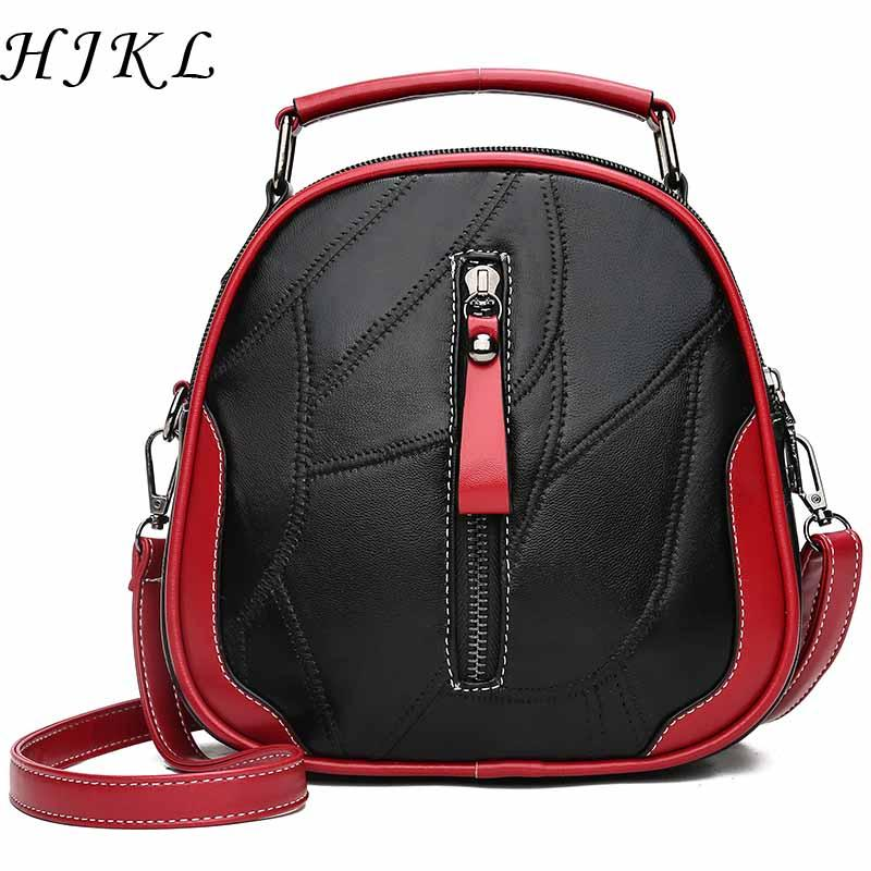 58ca81a36 Genuine Leather Bag For Women Crossbody Bags Handbag Sac A Main Femme De  Marque Luxe Cuir 2018 Ladies Hand Handbags Round Sling Fashion Bags  Designer ...