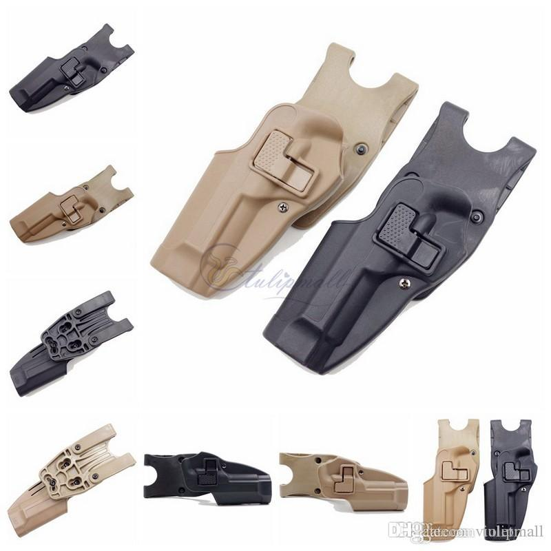 Tactical CQC gun holster belt holster fits for Beretta M92 96 Polymer left  handed gun holsters