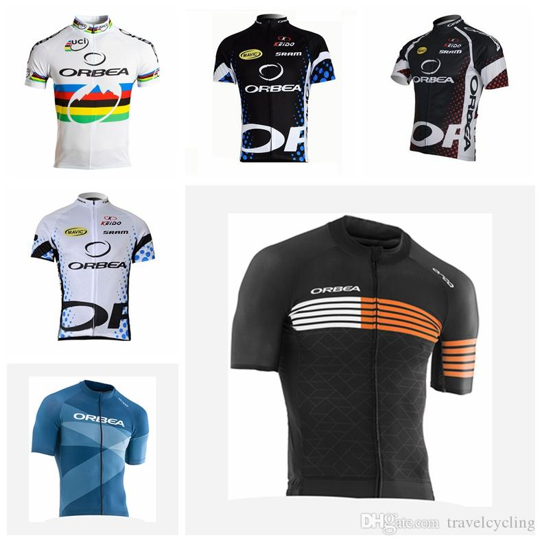 Ropa Ciclismo Breathable Orbea Bicycle Cycling Jersey Cycling Clothing  Quick Dry Summer Men Tour De France Racing Bike Sportswear 92105Y Mtb Shorts  Sports T ... a04012788