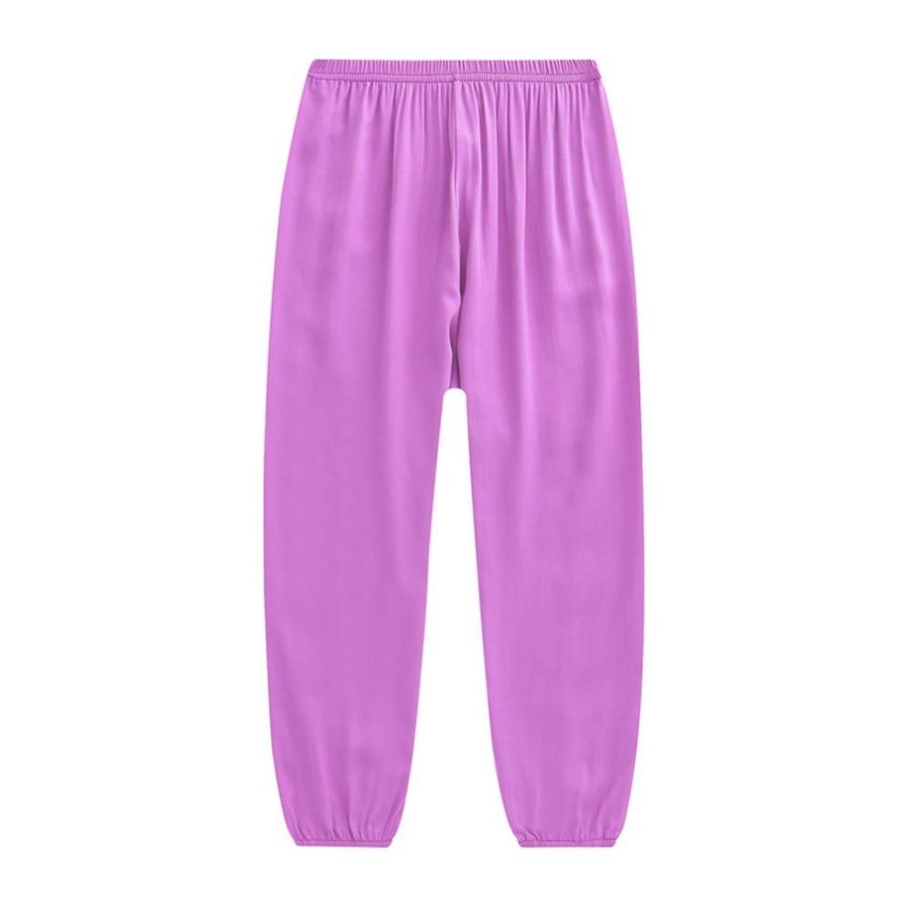 a69da40e41 Compre Pantalones De Yoga Para Mujeres Deportes Para Correr Ropa Deportiva  Fitness Artes Marciales Pantalones De Tai Chi Yoga De Seda De Algodón A   41.0 Del ...