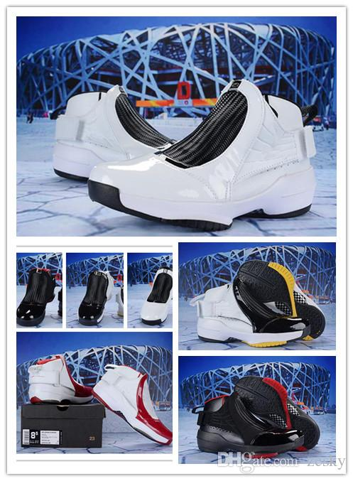 ff34b8072e1d Cheap 2018 Best Quality 19 19s Men Basketball Shoes White the Master GS  Barons Wolf Grey Flu Game Taxi Playoff French Sneakers Size US7-US13 Zesky
