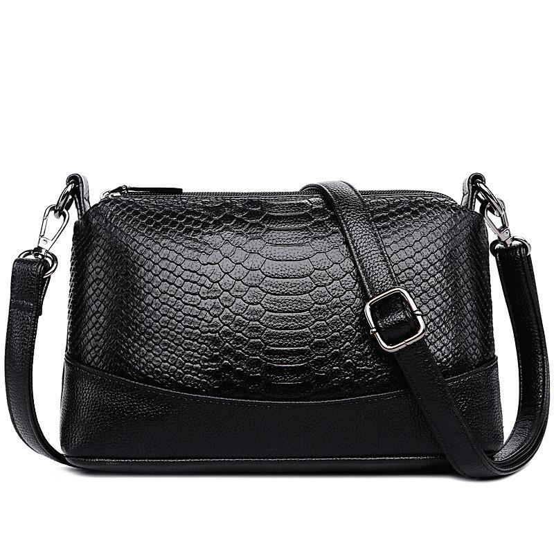 Fashion Luxury Ladies Genuine Leather Handbags Bags Women Messenger  Shoulder Bags Ladies Totes Bolsa Feminina Sac A Main White Handbags Satchel  Handbags ... f411105b1b717