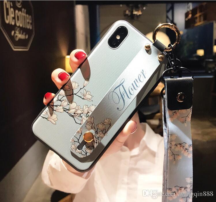 Satın Al Kalite Retro çiçek Kız Kalp Telefon Kılıfları Için Iphone X
