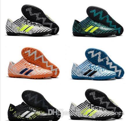 6f6e08624d82 2018 Originals Nemeziz Tango 17.3 TF Men Cleats Soccer Shoes Indoor Soft Football  Boots Nemeziz 17 Turf Zapatos Futbol 39-45 Indoor Soccer Shoes Nemeziz ...