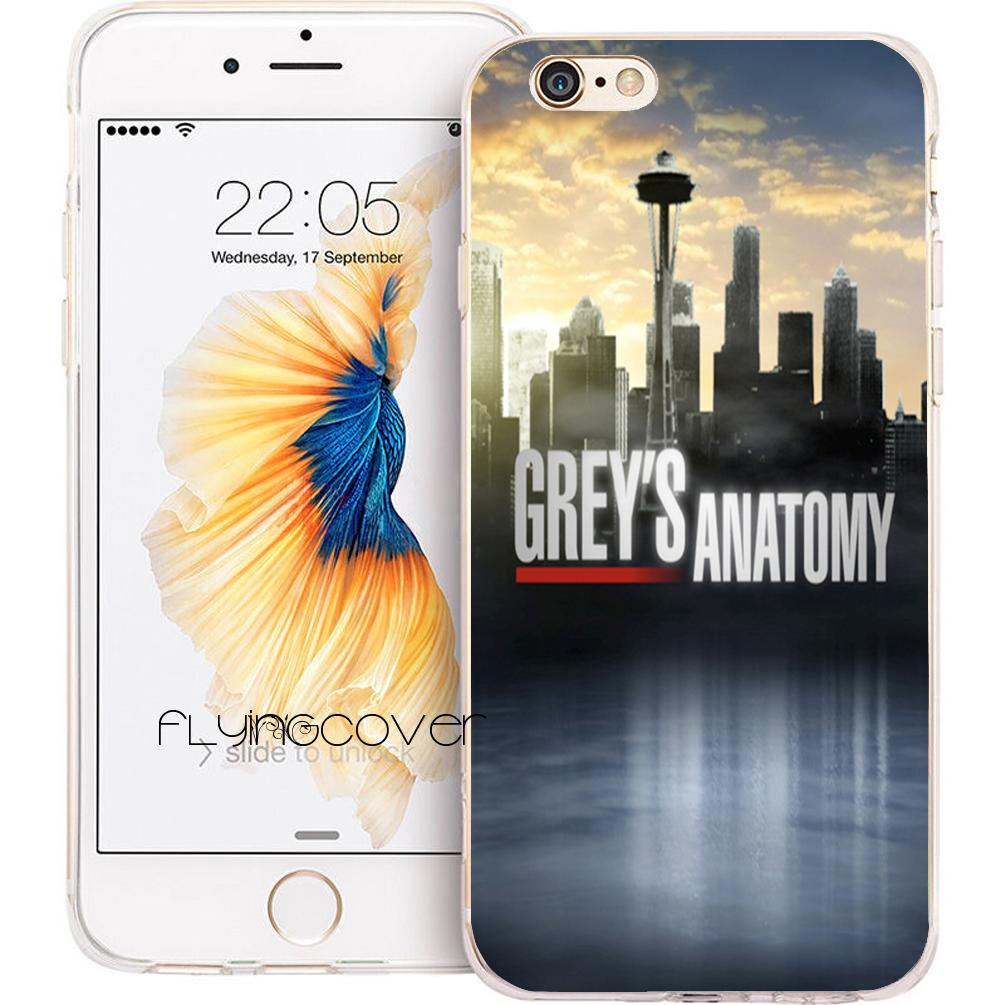 Funda Greys Anatomy Clear Soft Tpu Silicone Phone Cover For Iphone X ...