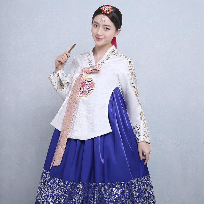Acquista Abbigliamento Tradizionale Coreano Femmina Elegante Hanbok Di Alta  Qualità Vintage Hanbok Costume Nazionale Coreano Performance Sul Palco A   100.4 ... e3516c5dfe9