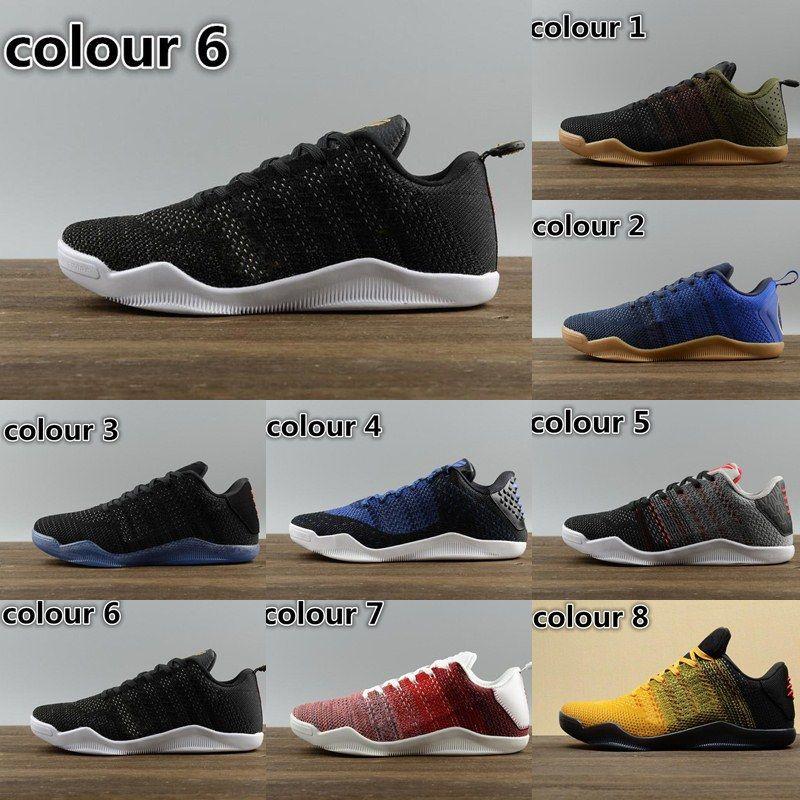 887e460efb7b ... wholesale cheap high quality 2018 kobe 11 elite men basketball shoes  kobe 11 red horse oreo