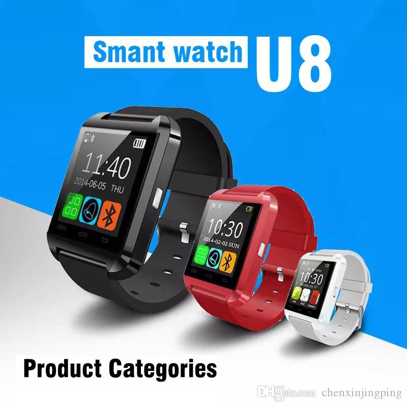 2663767f2 Premium Black Bluetooth Smart Wrist Watch Phone Mate For Android Samsung HTC  LG Touch Screen Blue Tooth Smart Watch For Kids For Adults Amaz Smartwatch  Gear ...