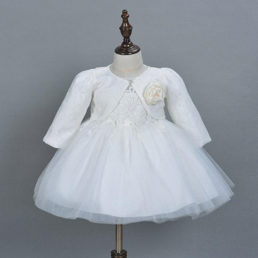 2018 Baby Girl Pageant Wedding Dresses With Hat Infant Princess ...