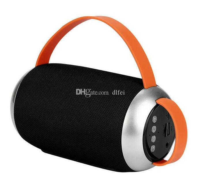 Outdoor Portable Bluetooth Speaker Stereo Wireless Speaker With HD Audio and Enhanced Bass Support TF/USB Input TG112 DHL