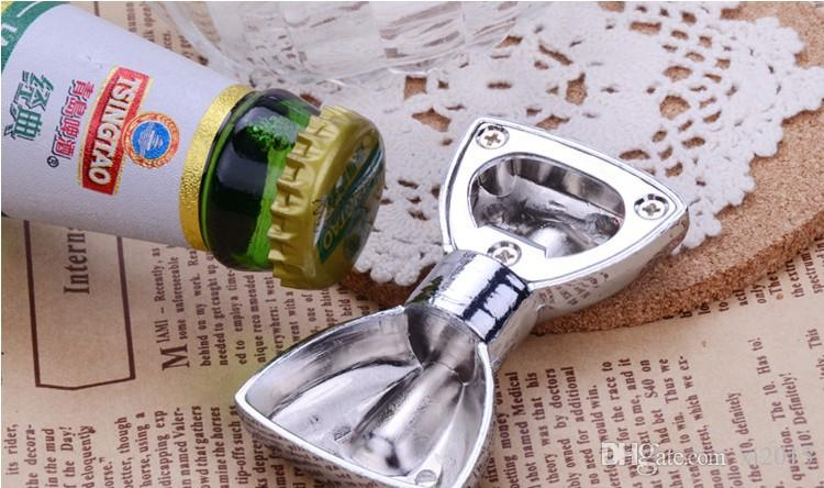Fashion Metal Bow Tie Beer Bottle Opener Wedding Party Bridal Shower Favors and Gifts for Guest wen5460