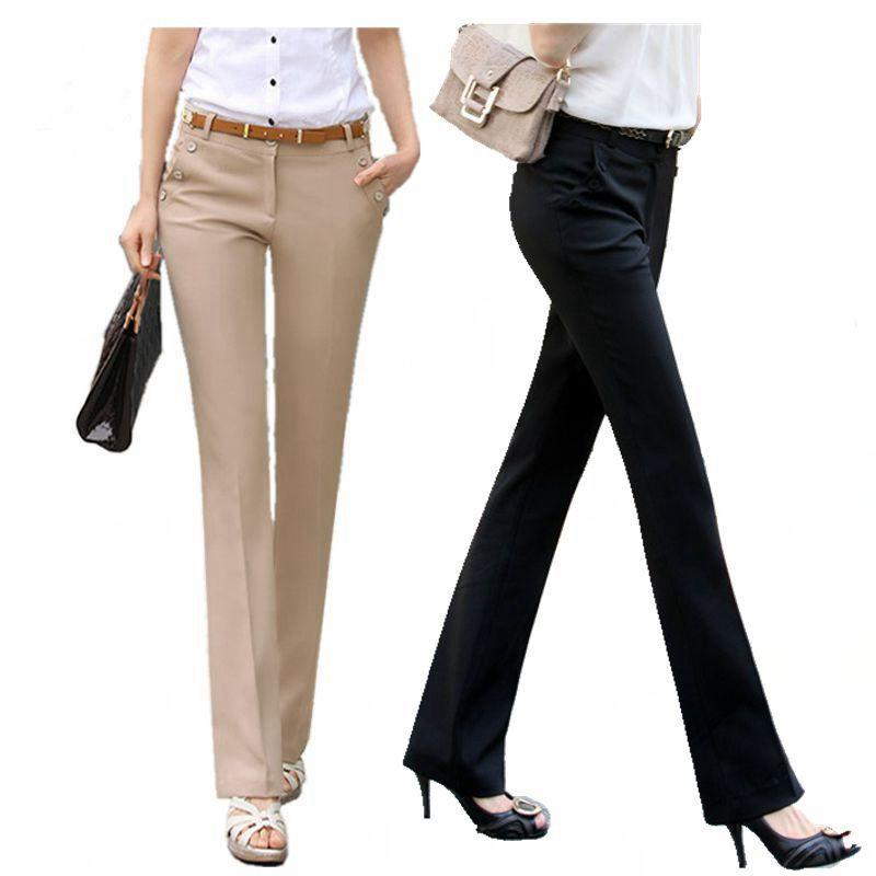 2018 Plus Size Trousers Women Pants 2018 Spring Summer Casual Ol