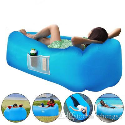 new outdoor air lounge sofa bed inflatable lounger with pillow set rh dhgate com