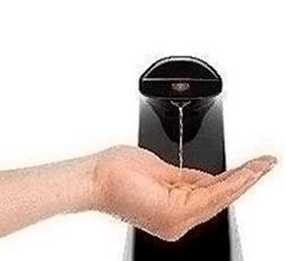 Automatische Seifenspender Smart Sensor Touch ABS Hand Frei Sanitizer Seifenspender Für Küche Badezimmer OOA4618