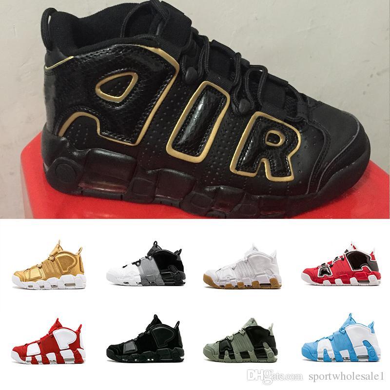 d239cbf5b31 Wholesale More Uptempo Basketball Shoes Olympic Release Bulls EU ...