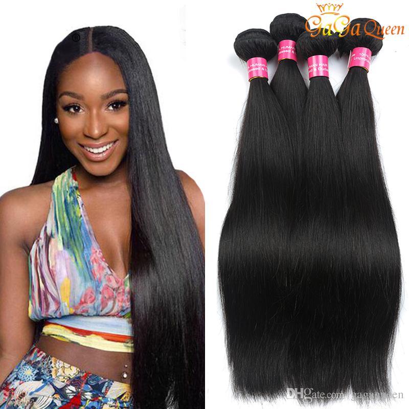 8a Brazilian Hair Extensions Virgin Brazilian Straight Hair Weave Real  Brazilian Human Hair Bundle No Shed No Tangle Black Weave Black Hair  Weaving From ... 103500ec9ef5