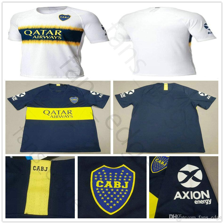 Top Thai Quality 2018 2019 Home Away Boca Juniors Soccer Jerseys 3rd ... 45c79638e