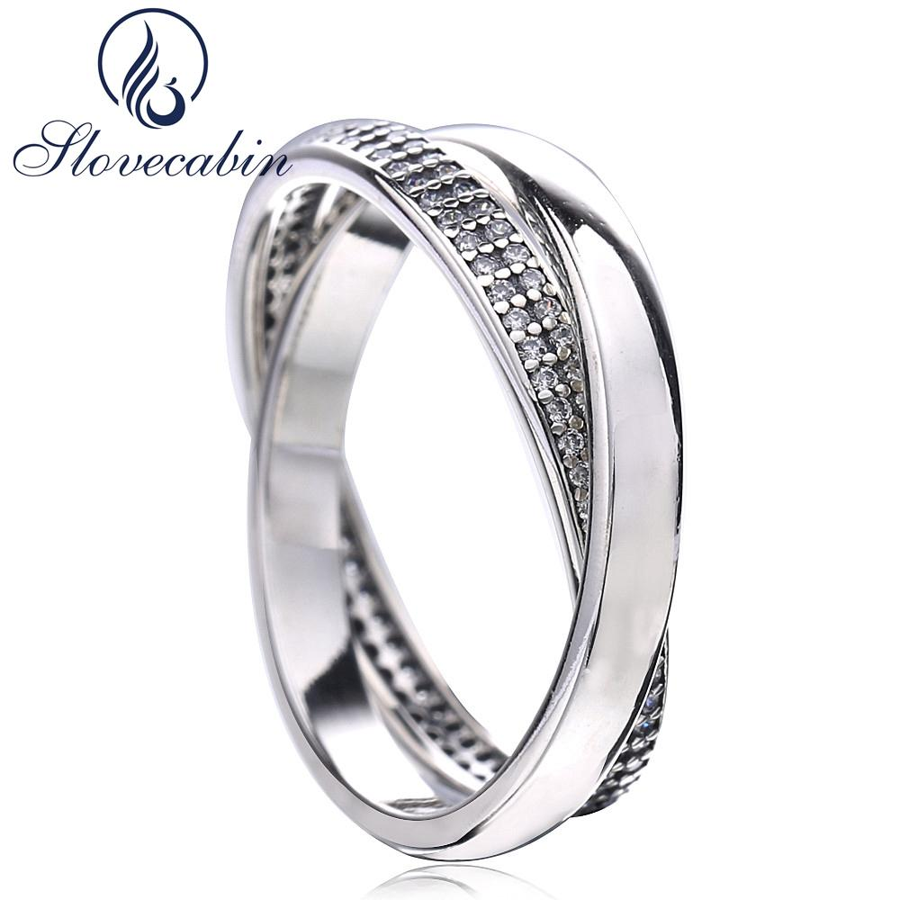 708ed7dc2 2019 Slovecabin Black Friday Sweet Promise Ring With Clear Cz Fine Jewelry  925 Sterling Silver Comprising Two Wedding Rings Anillos From Tiebanshao,  ...