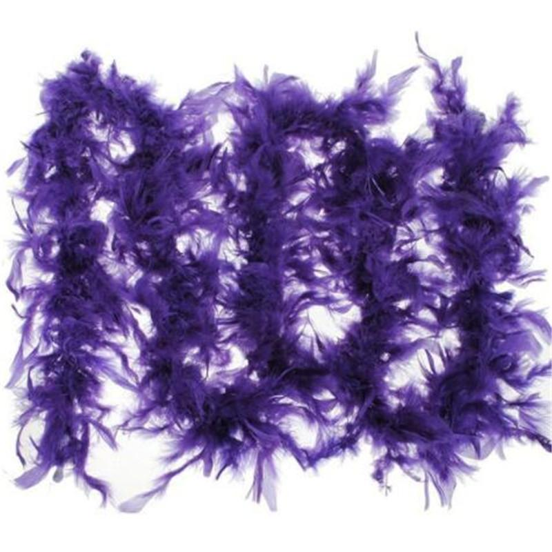 2 yards\lot Clothing Accessories Turkey Feather Multi Color Strip Fluffy Boa Happy Birthday Party Wedding Decorations Supplies
