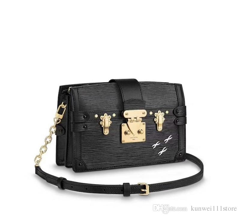 High Quality Mini Quilted Chain Bag Genuine Lambskin Leather Womens