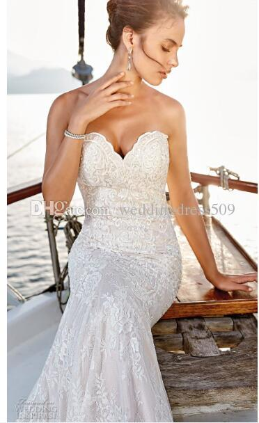 2019 Gorgeous laces and modern detailing characterize the The wedding dresses in mix of timeless and romantic, whimsical silhouettes also3